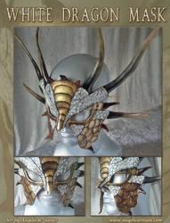 White Dragon Mask by Angelic-Artisan