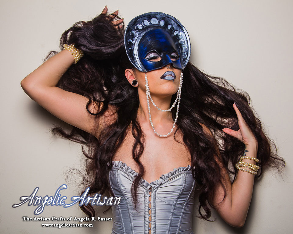 Tarot The Moon Mask (Featuring Echo) by Angelic-Artisan