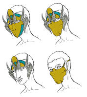 Angel Shaman Design Sketch by Angelic-Artisan