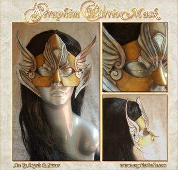 Seraphim Warrior Mask by Angelic-Artisan