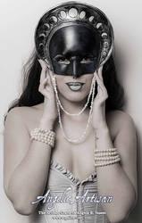 Tarot The Moon Mask II (Featuring Echo) by Angelic-Artisan