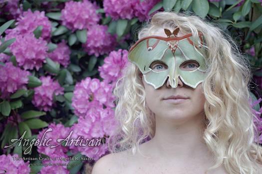 Luna Moth Mask featuring Lee Hakima