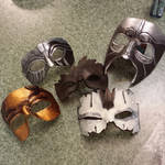 WiP Cosplay Masks for AWA 2014 by Angelic-Artisan