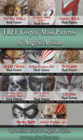 FREE Cosplay Mask Patterns
