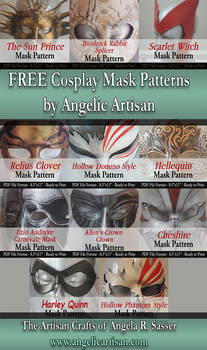 FREE Cosplay Mask Patterns
