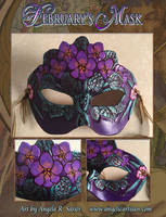 February's Mask Montage by Angelic-Artisan