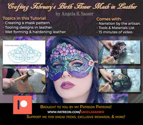 Crafting February's Mask in Leather PREMIUM