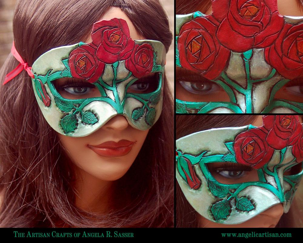 June's Birth Flower Mask by Angelic-Artisan