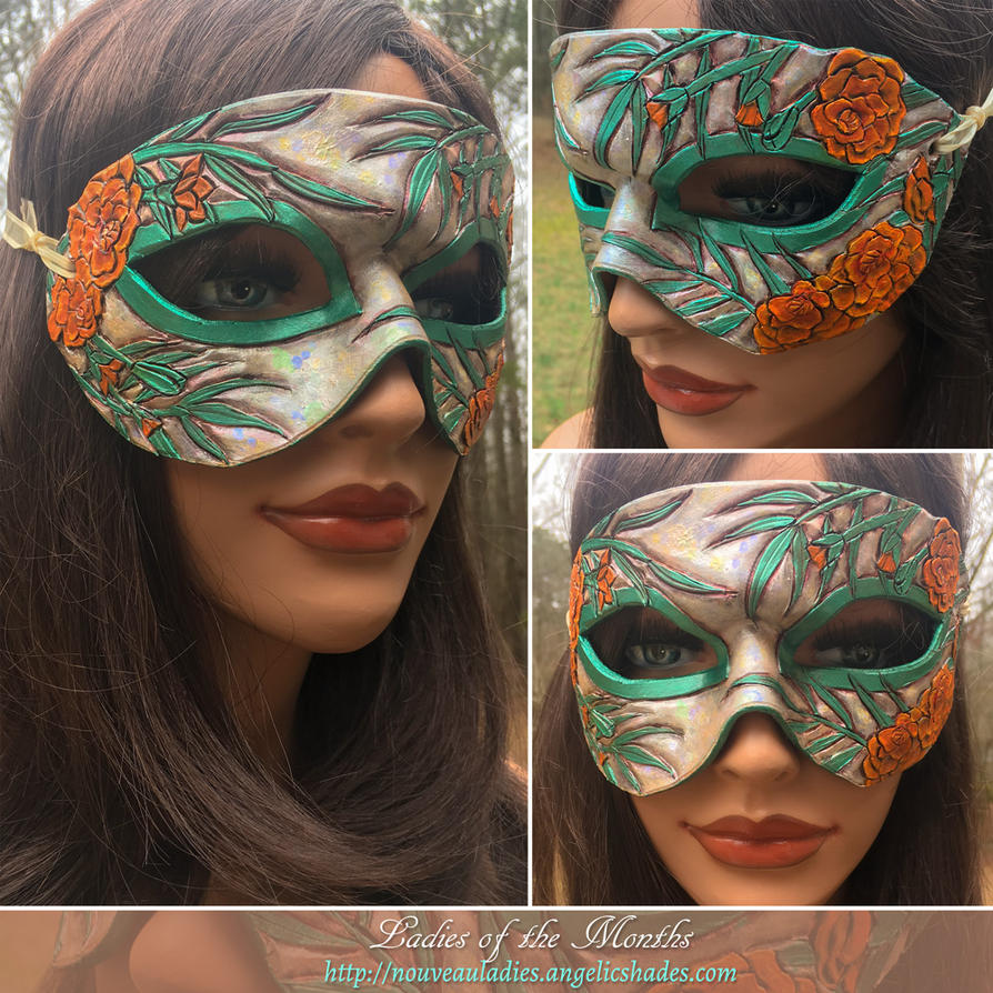 Montage - October's Mask by Angelic-Artisan
