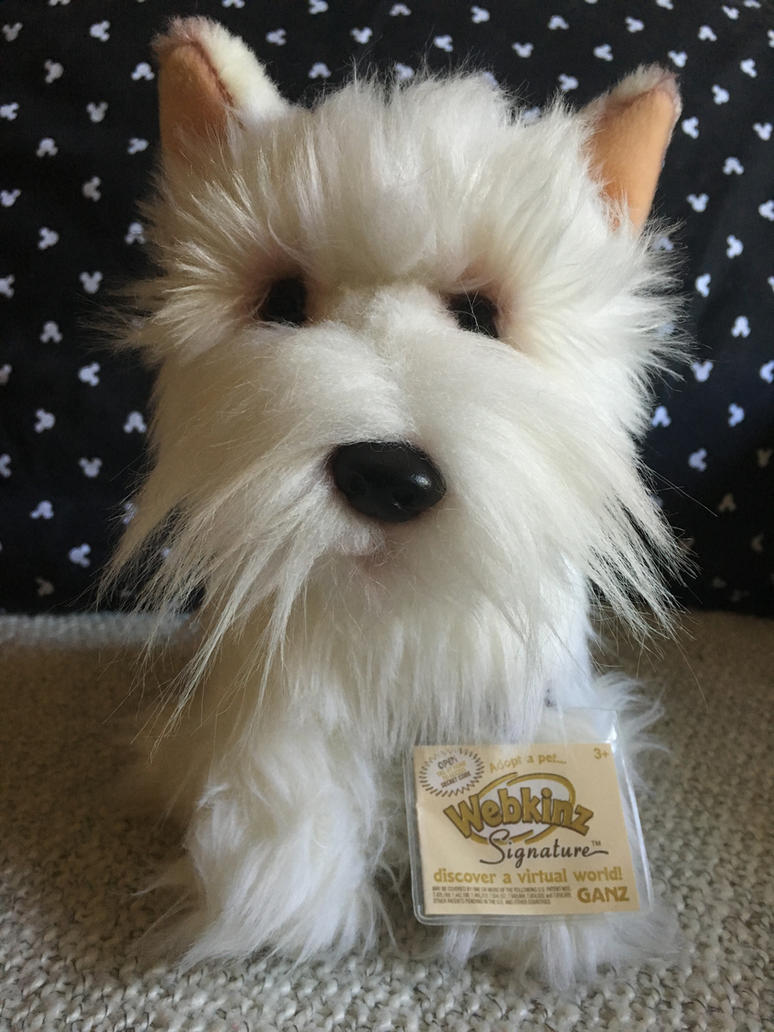 Webkinz Signature West Highland Terrier Plush by ...
