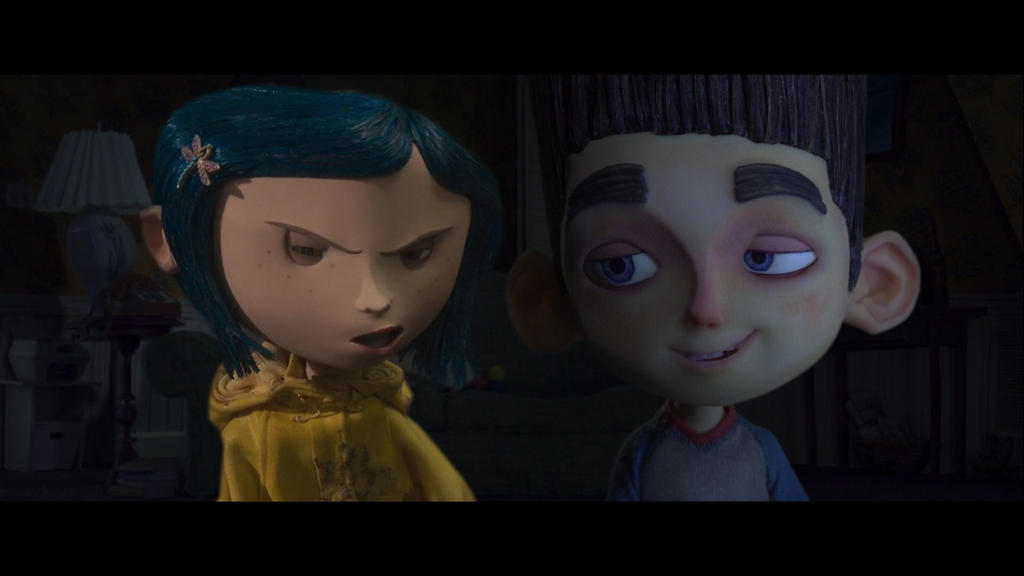 Coraline and Norman by Theultimateclub on DeviantArt
