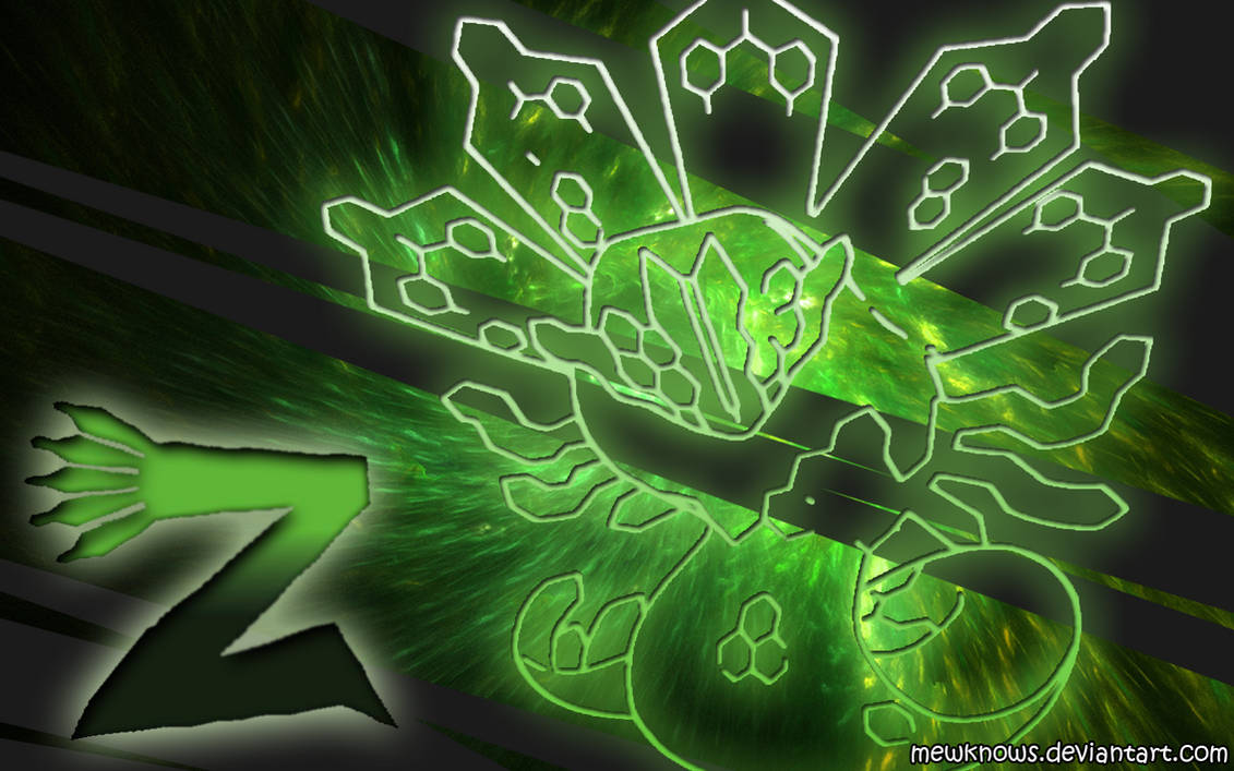 Zygarde Wallpaper by MewKnows