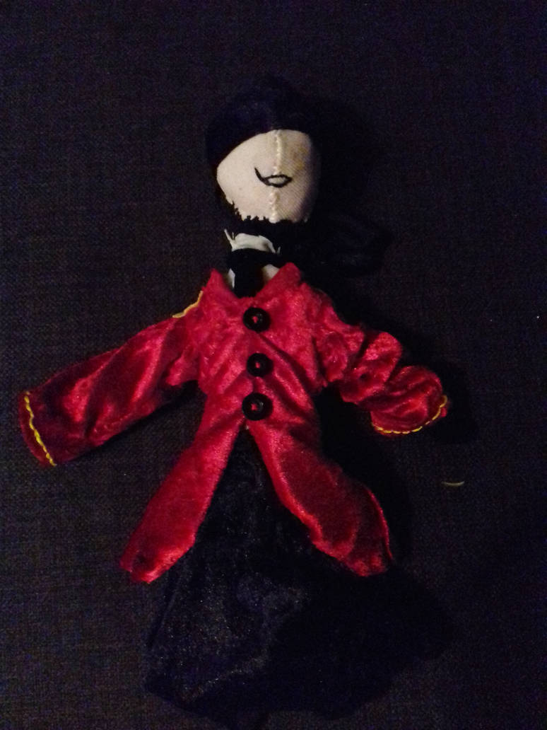 Ring Master Doll by WritterInTheArtHat