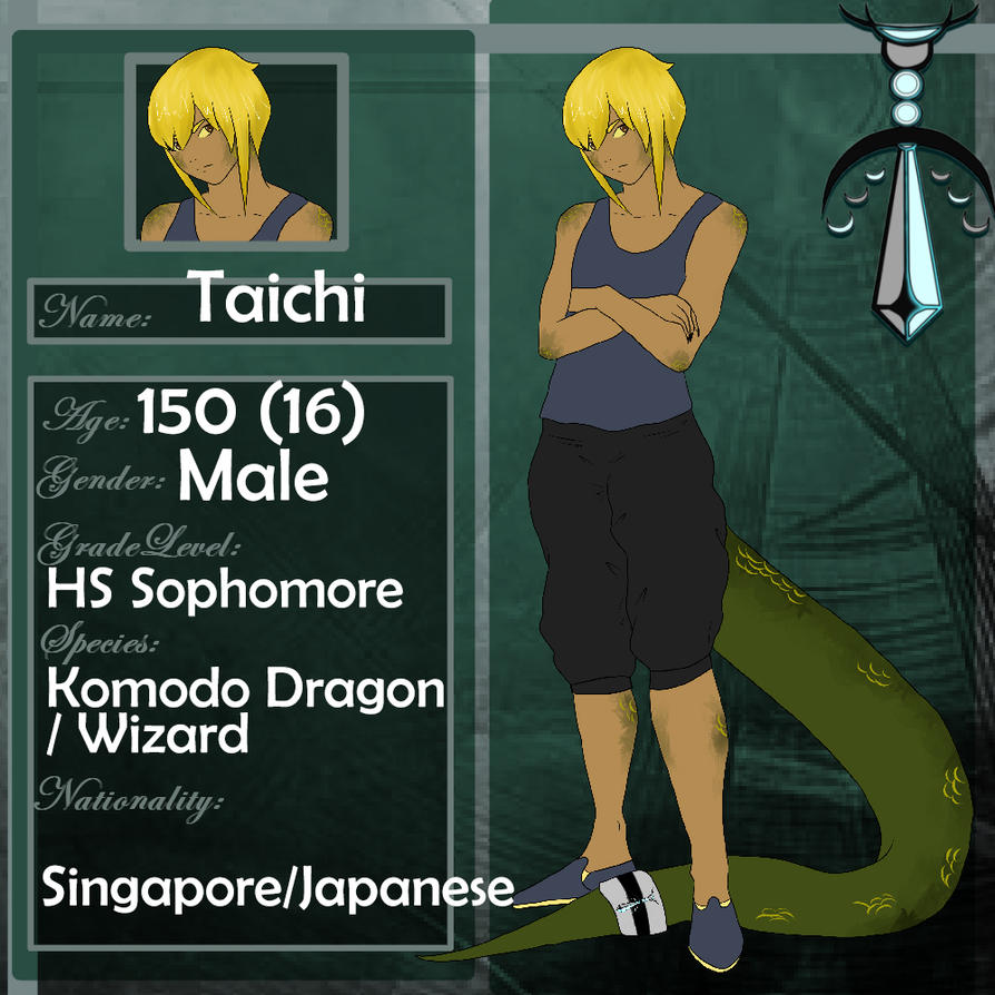 Teras Seminary - Taichi by deerly-hime