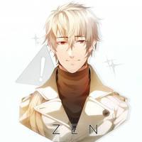 Mystic Messenger - ZEN by DoritoMeatbag