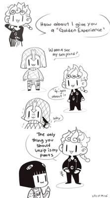 Chibi Practice - GioGio's Kinky Adventure