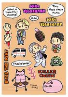Kira Yoshikage Sticker by DoritoMeatbag
