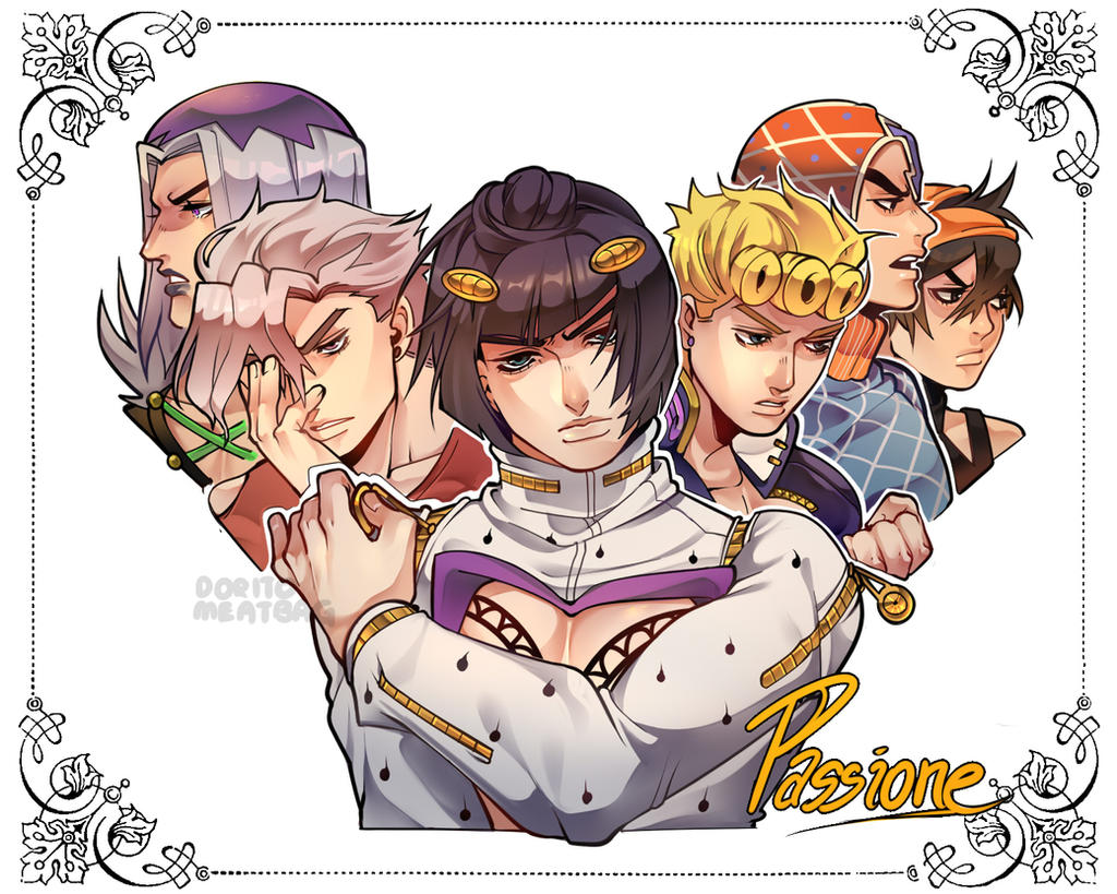 The Passione By DoritoMeatbag On DeviantArt