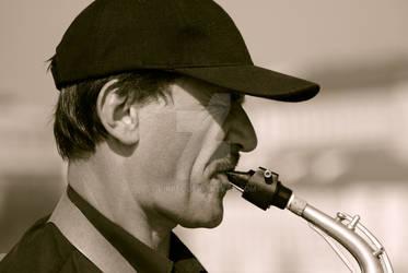 Saxophone... by vikpel