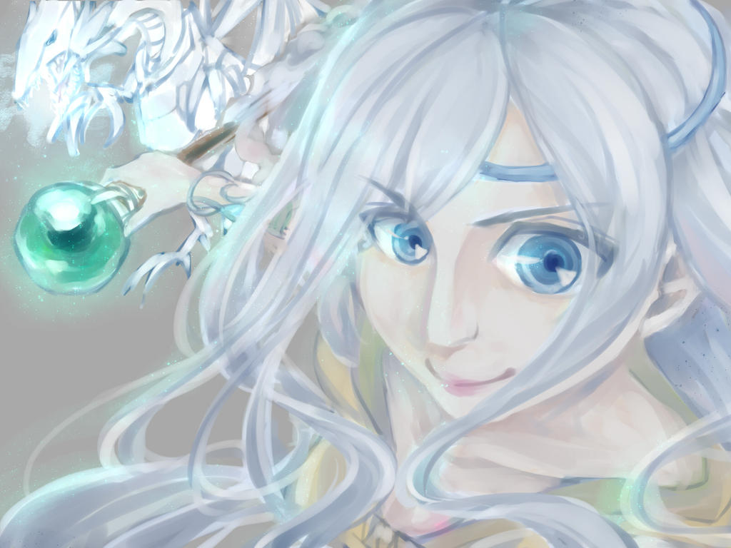 Maiden With Eyes Of Blue By Laneelan On Deviantart