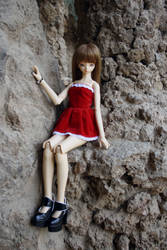 Shiori at the Park Guell by inu-yoyochan