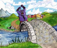 Bridge Troll by sengarden
