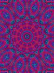 Bright Fractal Kaleidoscope