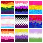 Free Pride Flag Graphics! High Res, Public Domain