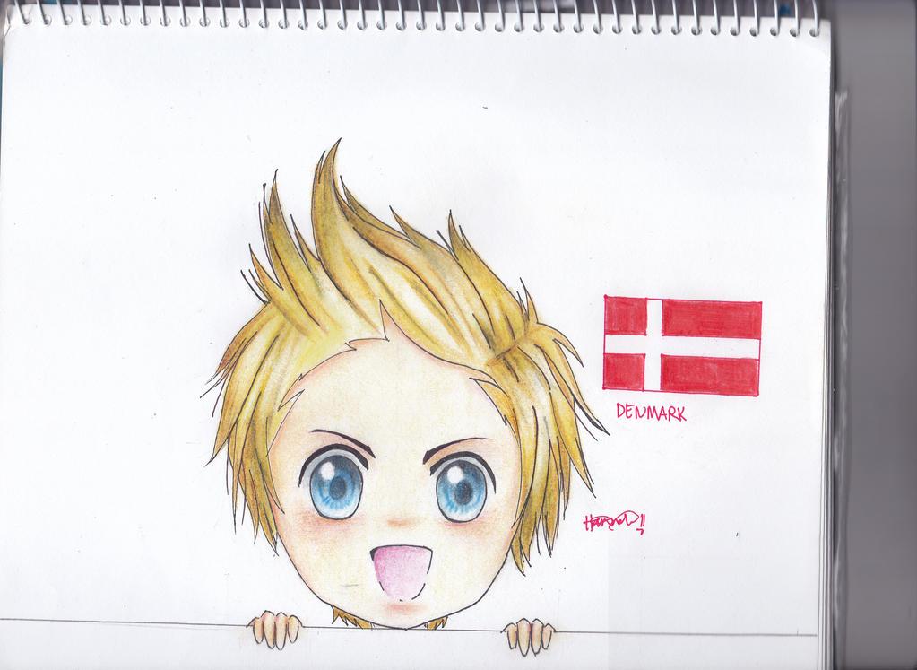 Denmark Hetalia Icon: Chibi Denmark By Memoryheart On DeviantArt