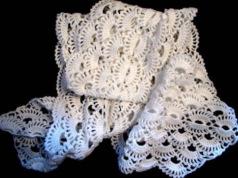 White shawl