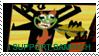Aku's sammich stamp by teacupballerina