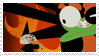 samurai jack inshow pair stamp
