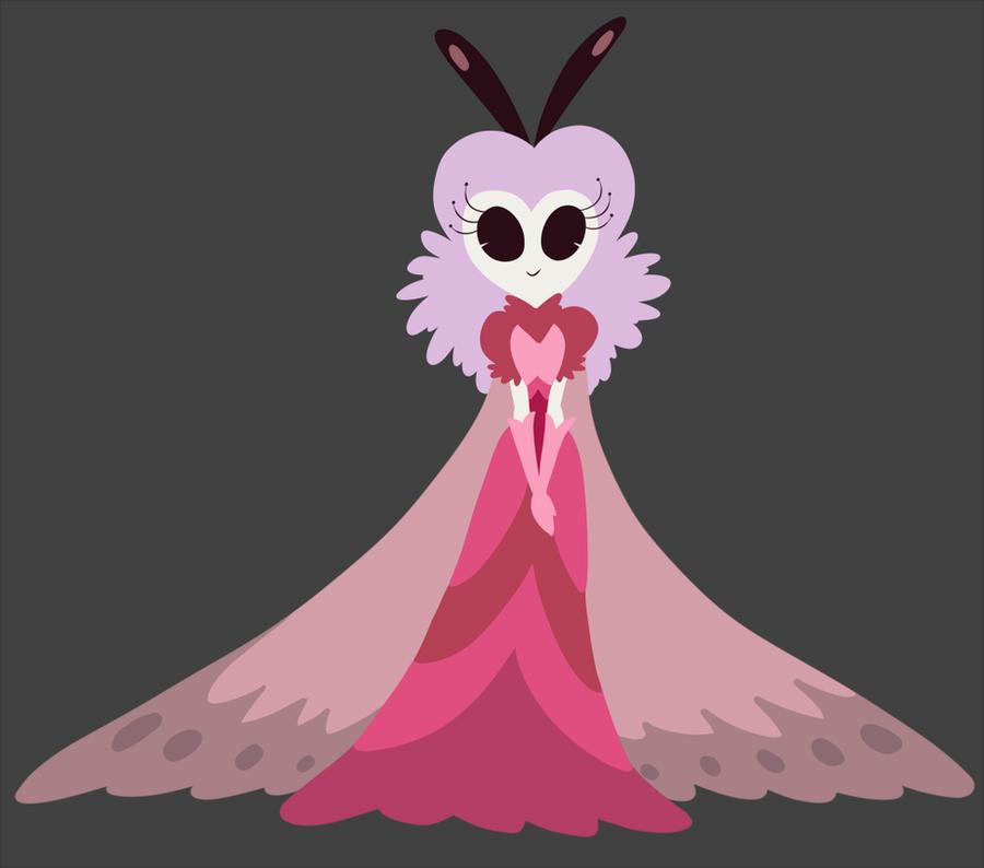 kawaii fairy princess moth by teacupballerina