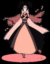 Rhodonite by teacupballerina