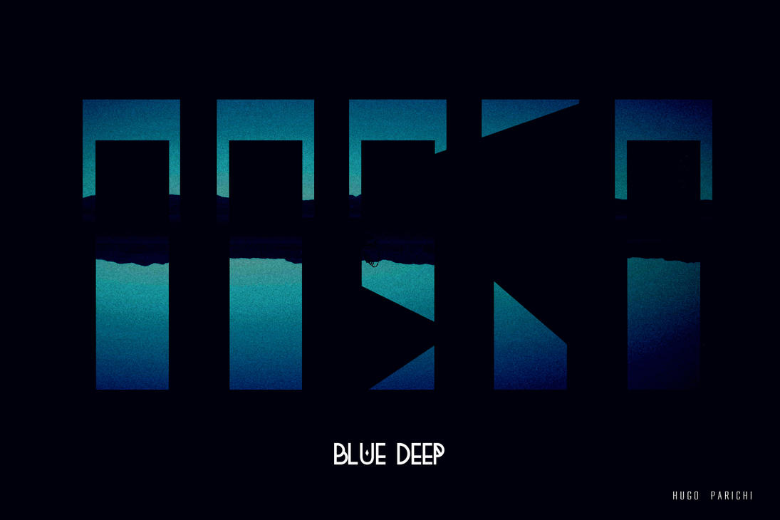 Blue Deep by Hougo