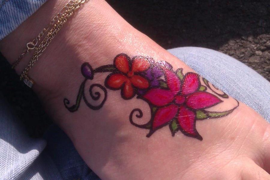 Sharpie tattoo by yelselnagem16 on deviantart for Sharpie tattoo designs