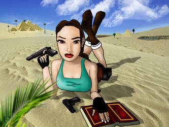 Tomb Raider - Lara Croft in Egypt by florecande12