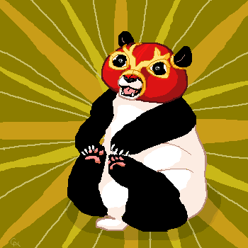 panda power by WickedFerret