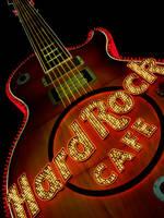 Hard Rock Cafe Guitar by DarkCozy