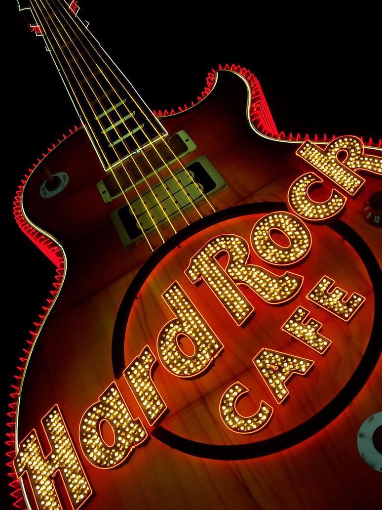 Hard Rock Cafe Gitarre