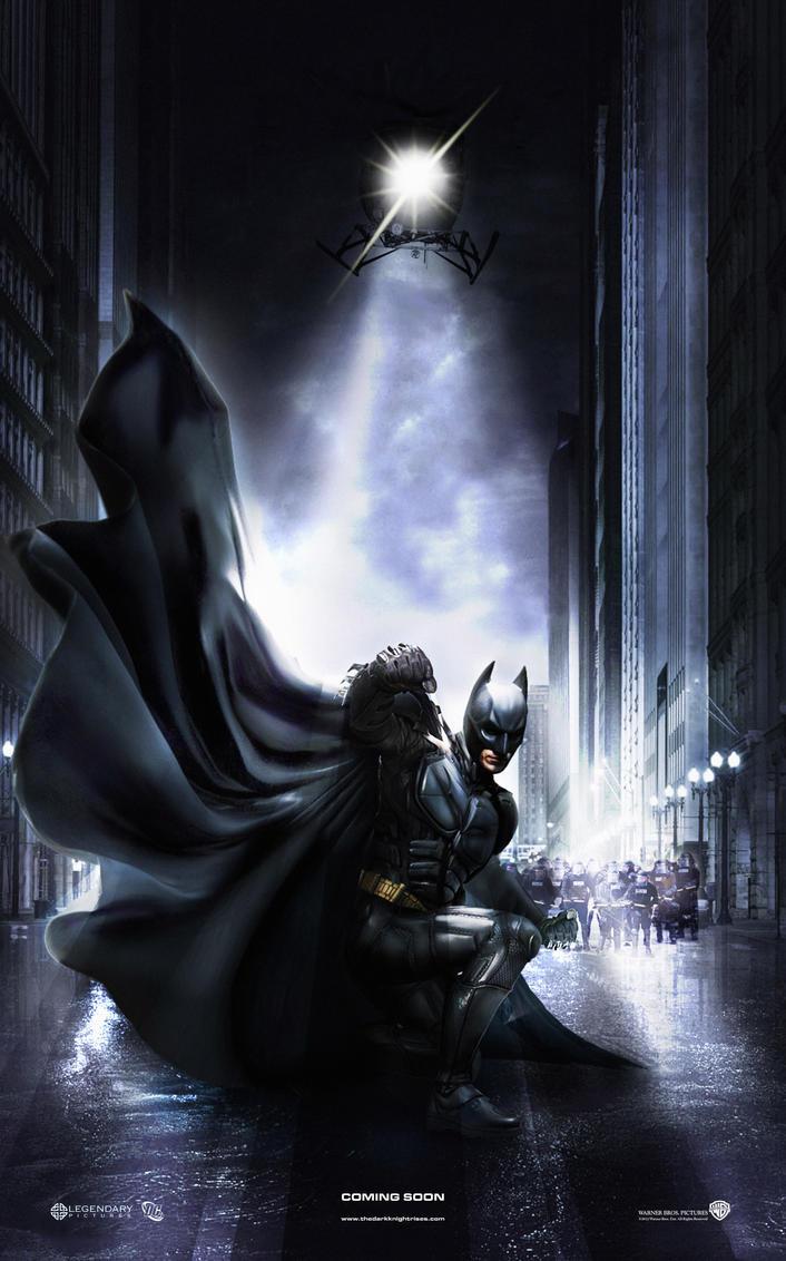 Batman 3 Poster by DNM5555