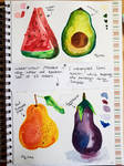 Fruit Paintings by Shannie-Sketches