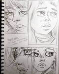 Art Style Development  by Shannie-Sketches