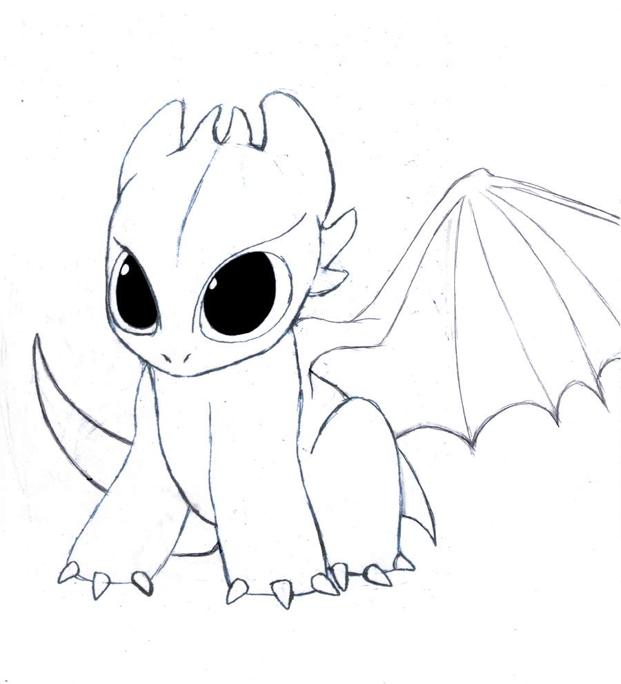 toothless coloring pages-#13
