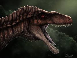 Hyper Utah Raptor Fan Art