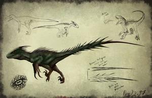 Tissoplastic Utahraptor Concept by drmambo199