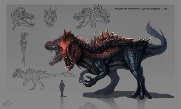 Necrotyrannus Concept Sheet