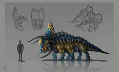 Gronto Creature Concept