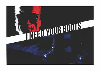 I need your boots - Terminator by lucasdametto