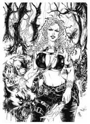 Huntress Conceptart